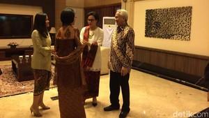 Sibuknya Sri Mulyani, Usai Open House Langsung Mudik ke Semarang