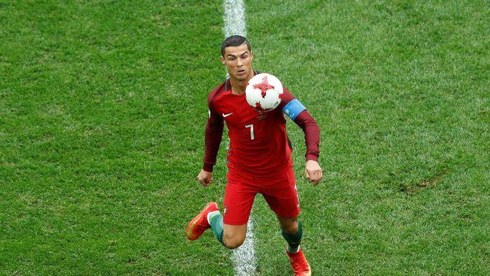 Cristiano Ronaldo comeback ke Timnas Portugal (REUTERS/Carl Recine)
