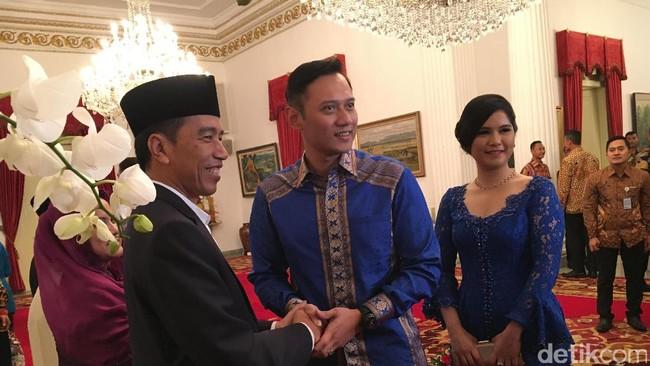 Resmikan Yudhoyono Institute, AHY: Terima Kasih Jokowi