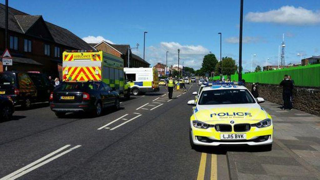 Mobil Tabrak Kerumuman di Newcastle Diduga Tak Terkait Terorisme