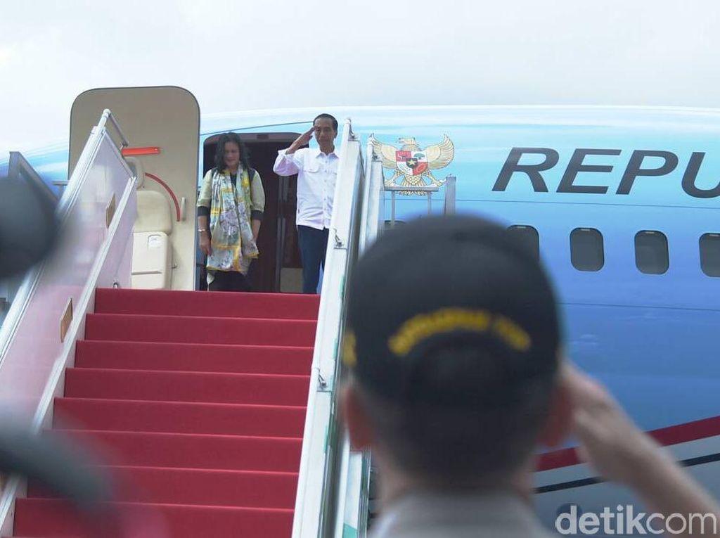 Jokowi Bertolak ke Abu Dhabi, Akan Bertemu Putra Mahkota UEA