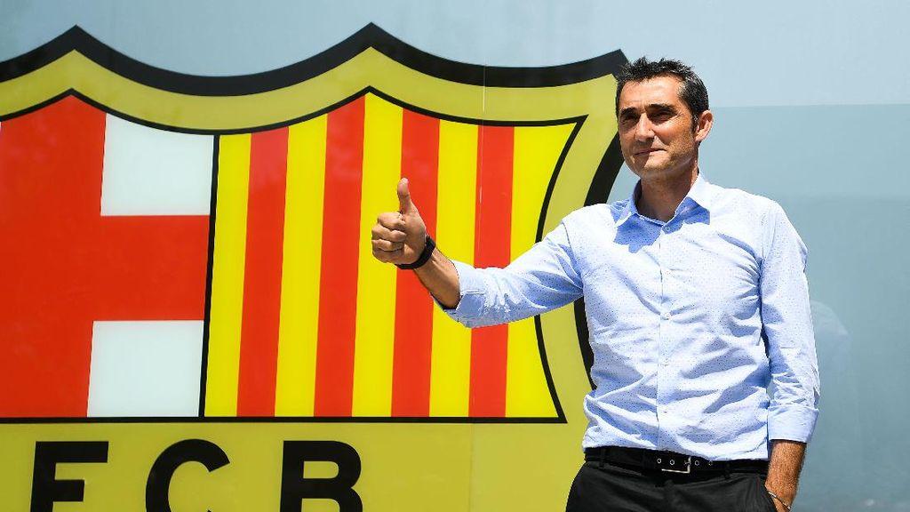 Alcacer: Valverde Cocok untuk Barcelona