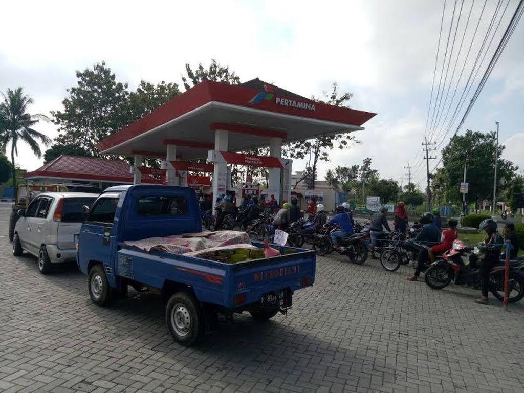Konsumsi Premium di Aceh Turun Saat Lebaran, Pertamax Naik