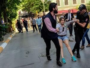 Parade Gay Turki Dibatalkan Pihak Berwenang