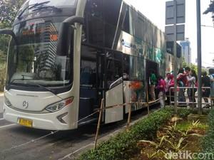 Libur Lebaran, Bus Tingkat Wisata yang Jadi Idola