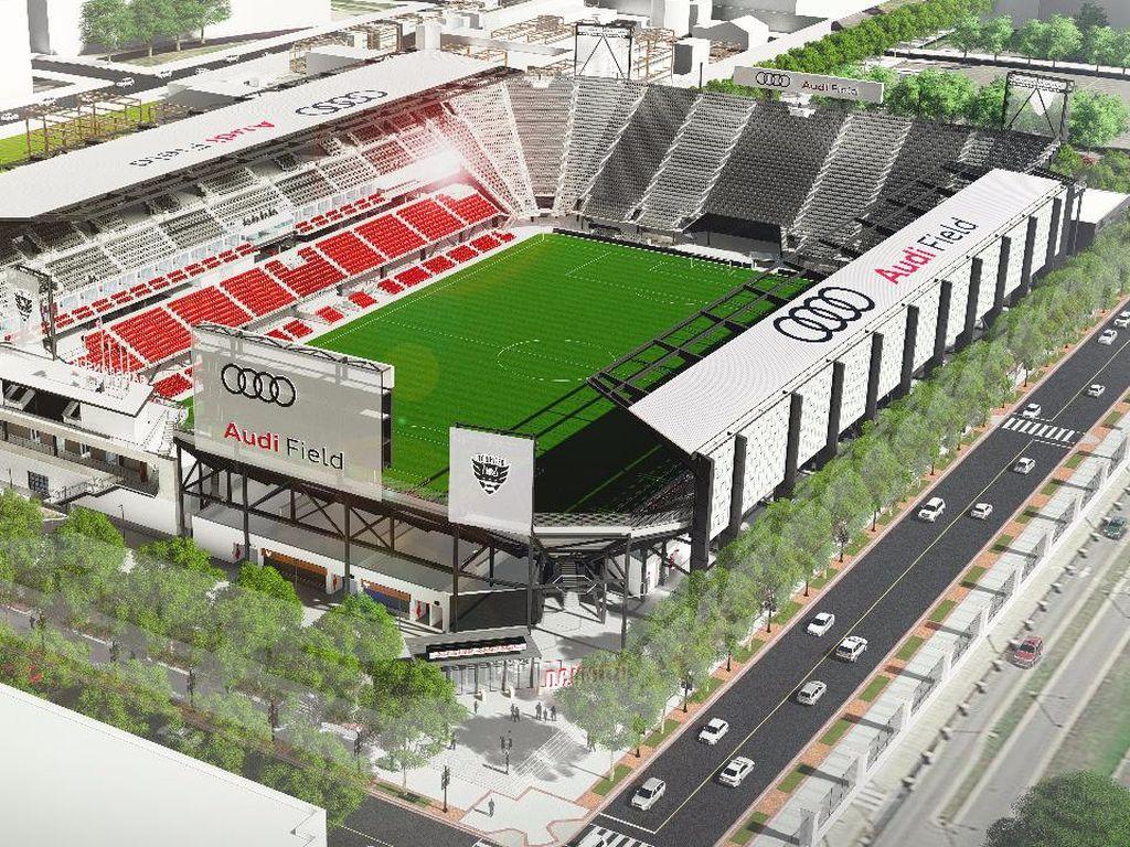 Saat Erick Thohir Bareng Rooney Resmikan Stadion DC United