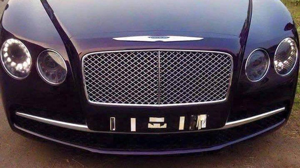 Untuk Akali Pajak, Bentley Ini Disulap Jadi Chrysler