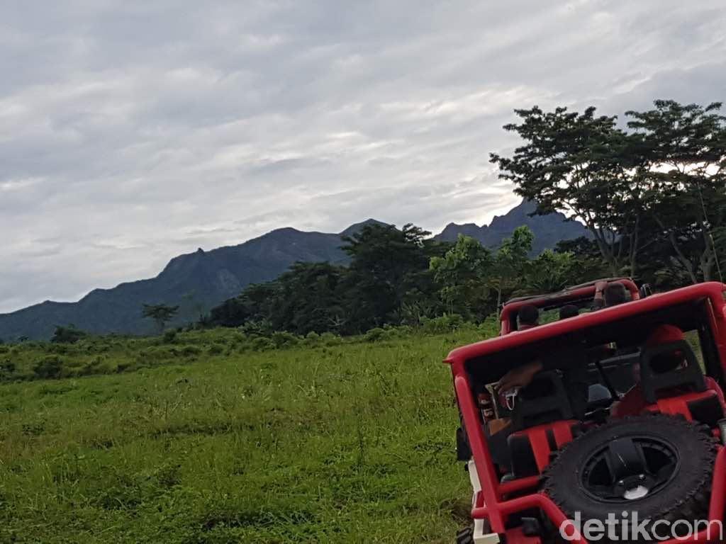 Mudik Lebaran ke Kediri, Coba Off Road di Gunung Kelud