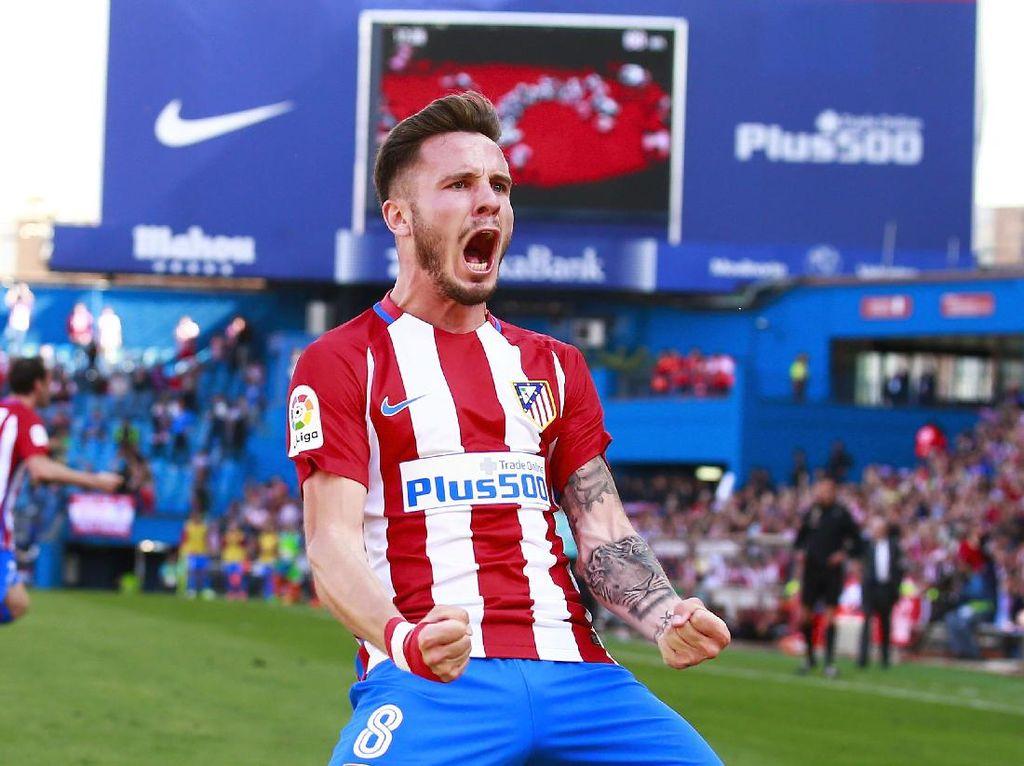 Saul Niguez: Ditempa Madrid, Bersinar di Atletico