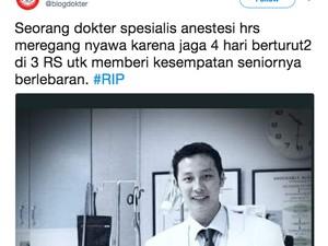 Komisi IX Berduka atas Meninggalnya Dokter Saat Piket Lebaran