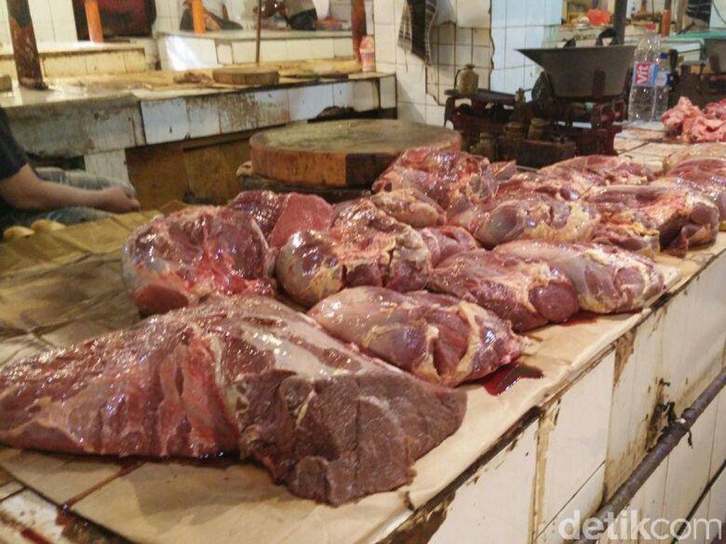 Harga Daging Beku Masih Tinggi Rp 110.000/Kg