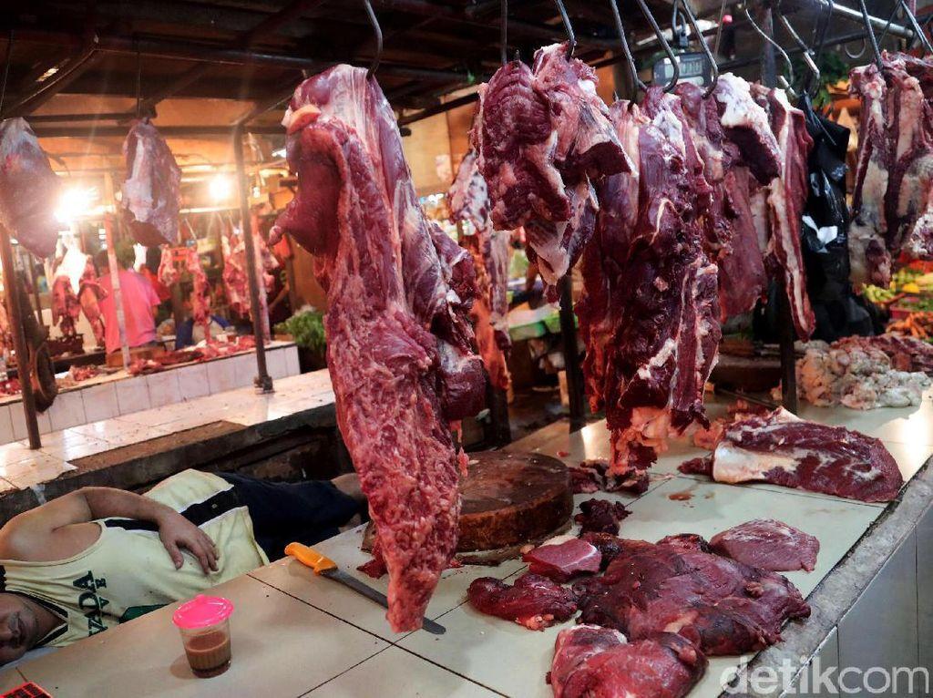 Harga Daging di Pasar Masih Mahal, Ini Penjelasan Pedagang