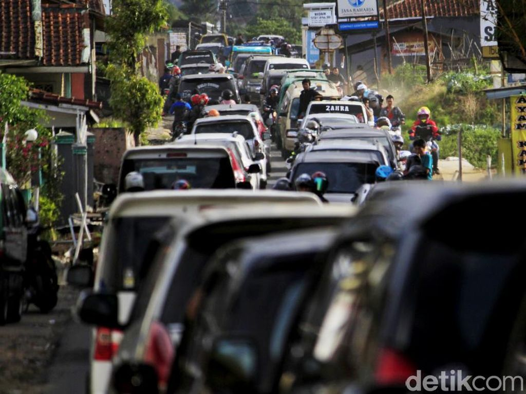 Polresta Bandung Waspadai Jalur Wisata Ciwidey Saat Libur Nataru