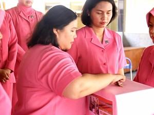 Bhayangkari Polres Bangka Galang Bantuan untuk Istri Aiptu Martua