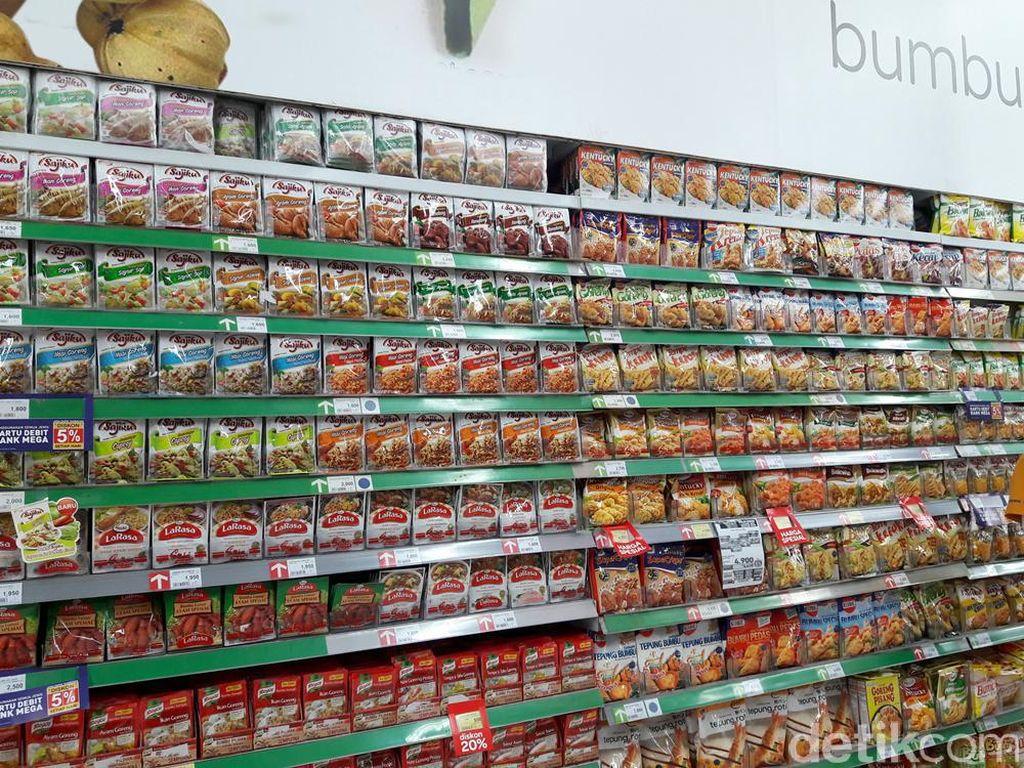 Promo Pasta Sampai Bumbu Masak di Transmart Carrefour