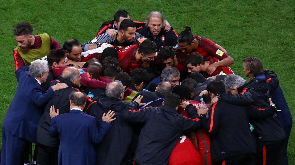 Santos Tak Salahkan Para Penendang Penalti Portugal