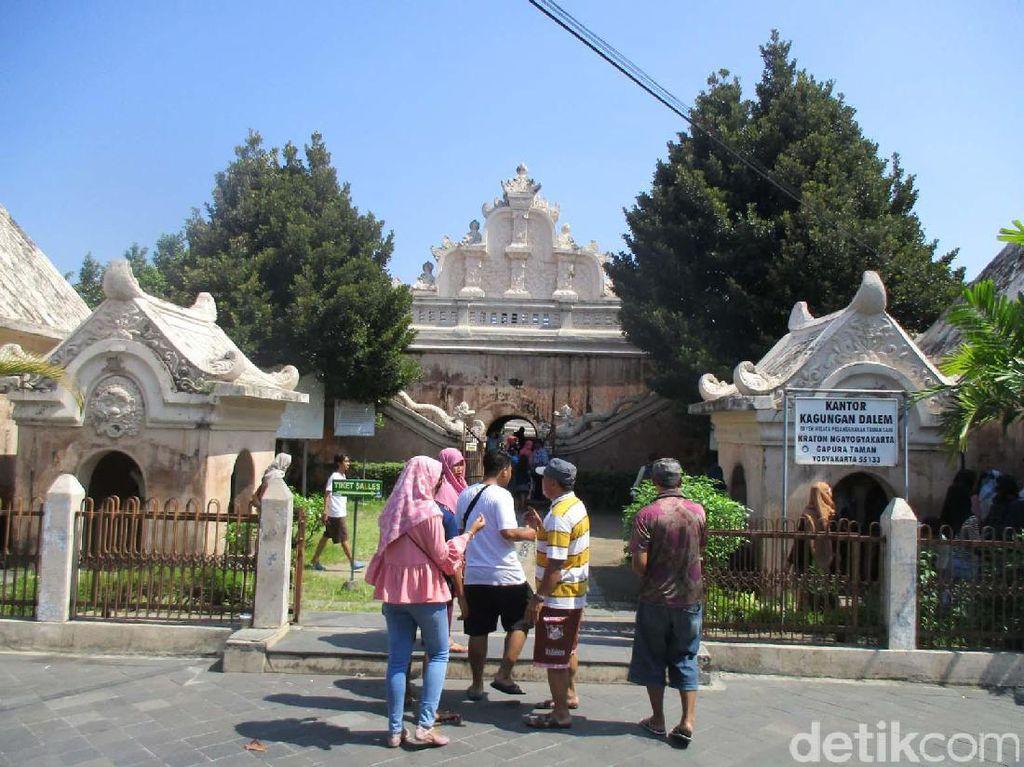 Epiknya Taman Sari Yogyakarta Dalam Jepretan Kamera