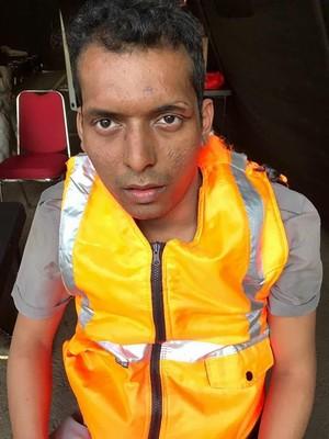 Berseragam Polisi dan Tilang Pengendara, Pria Gangguan Jiwa Diamankan