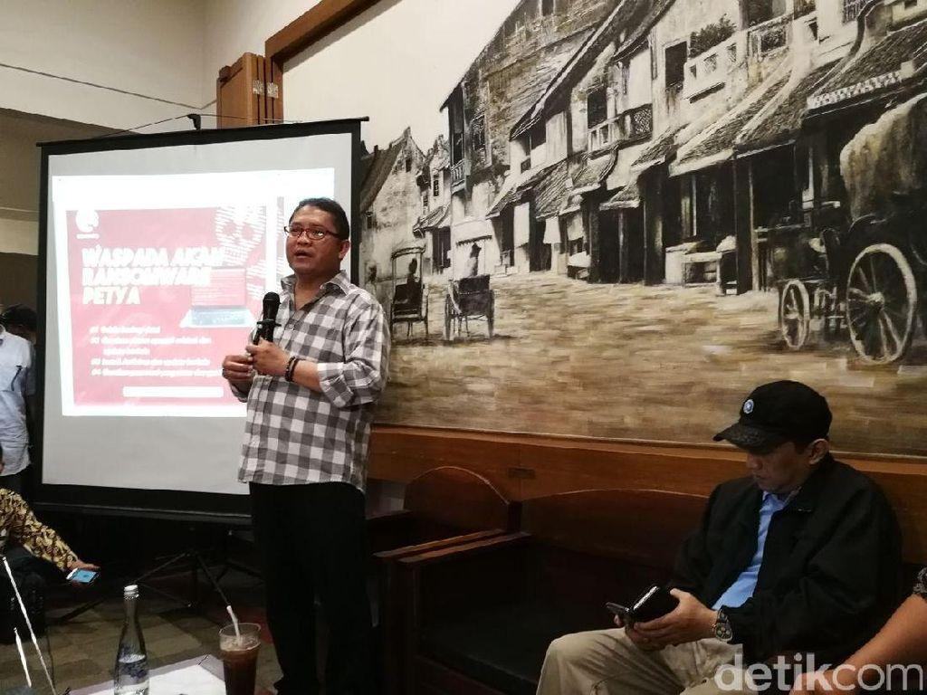 Menkominfo Pastikan Indonesia Belum Terserang Petya