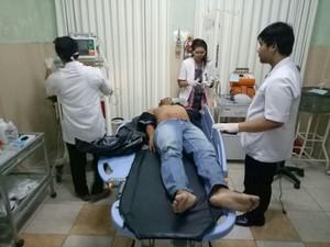 Luka Tembak Pegawai Polsek di Banyuwangi dari Pistol Brigadir EBH