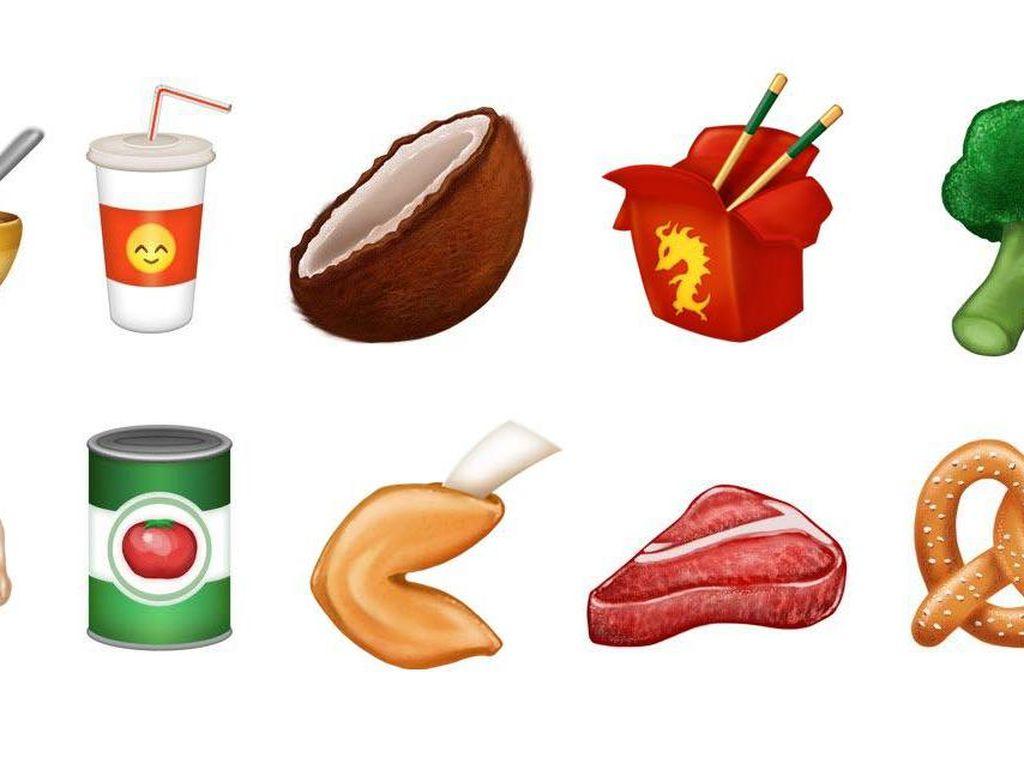 13 Emoji Baru Bertema Makanan Akan Hadir Tahun Ini