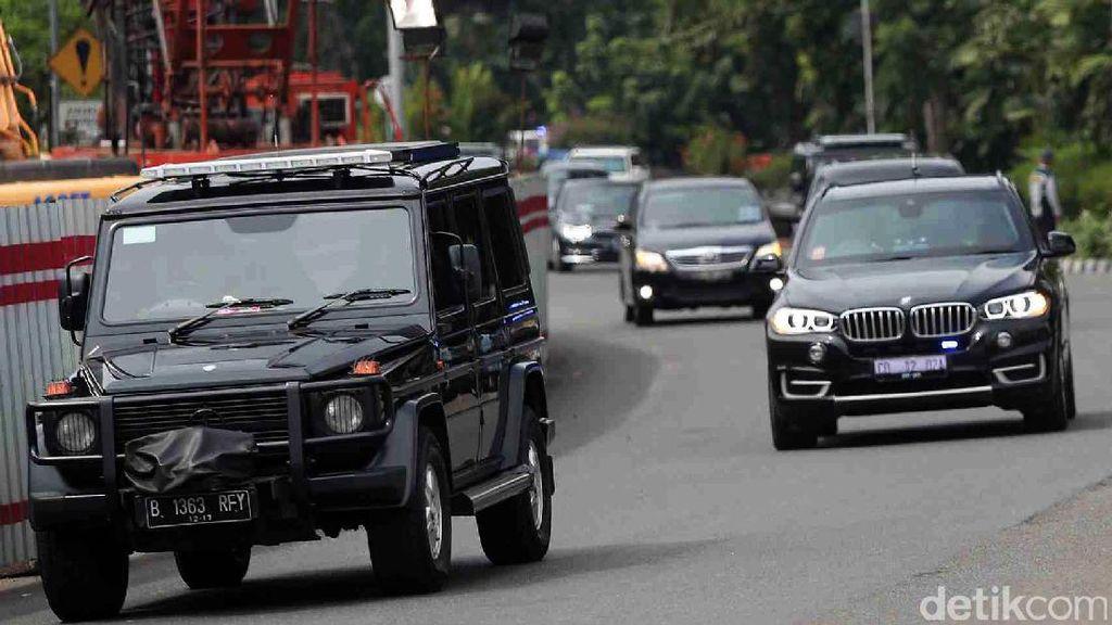Rombongan Obama Tiba di Jakarta