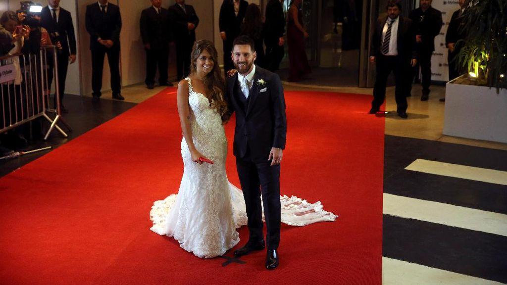 Karpet Merah Pernikahan Lionel Messi