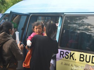 Balita Korban Siamang di Taman Rakyat Blitar Dirujuk ke RSSA Malang