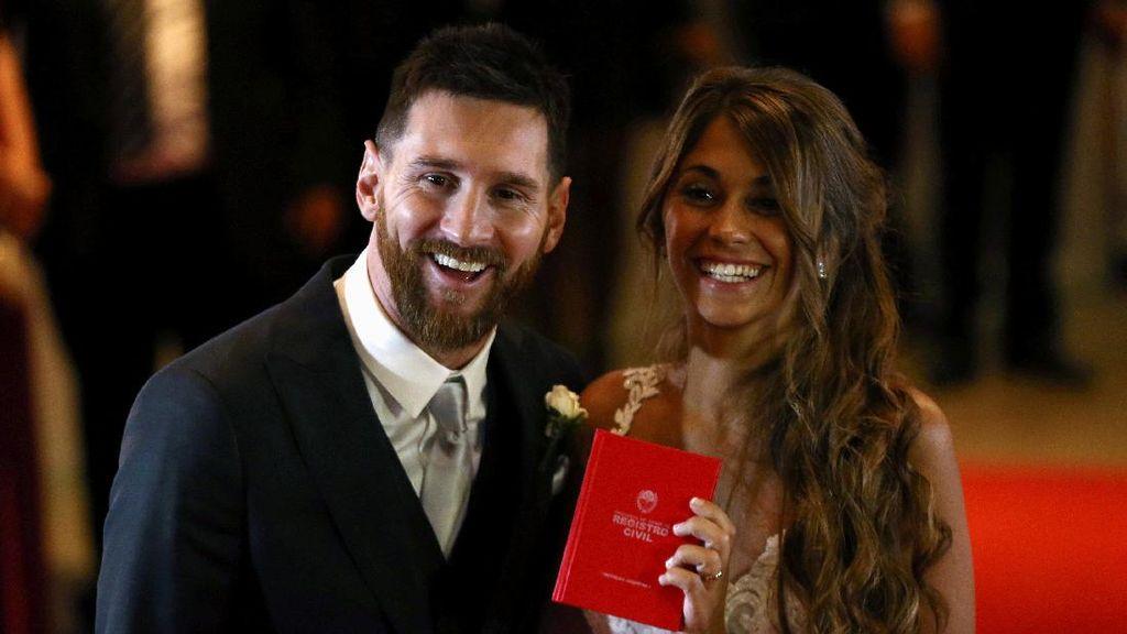 Apa Saja Menu Istimewa di Pernikahan Lionel Messi?