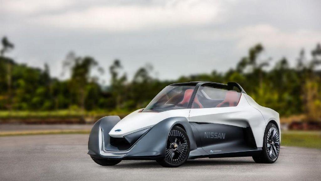 Mobil Listrik Nissan BladeGlider Mulai Unjuk Gigi
