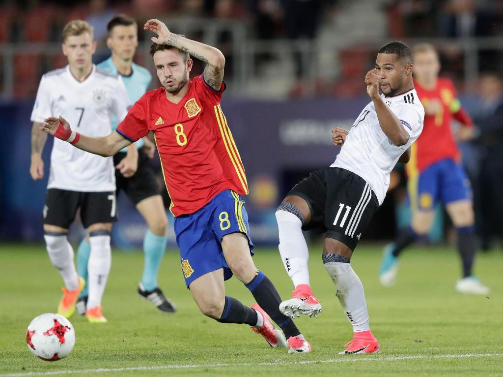 Saul Top Skorer Piala Eropa U-21, Dani Ceballos Pemain Terbaik