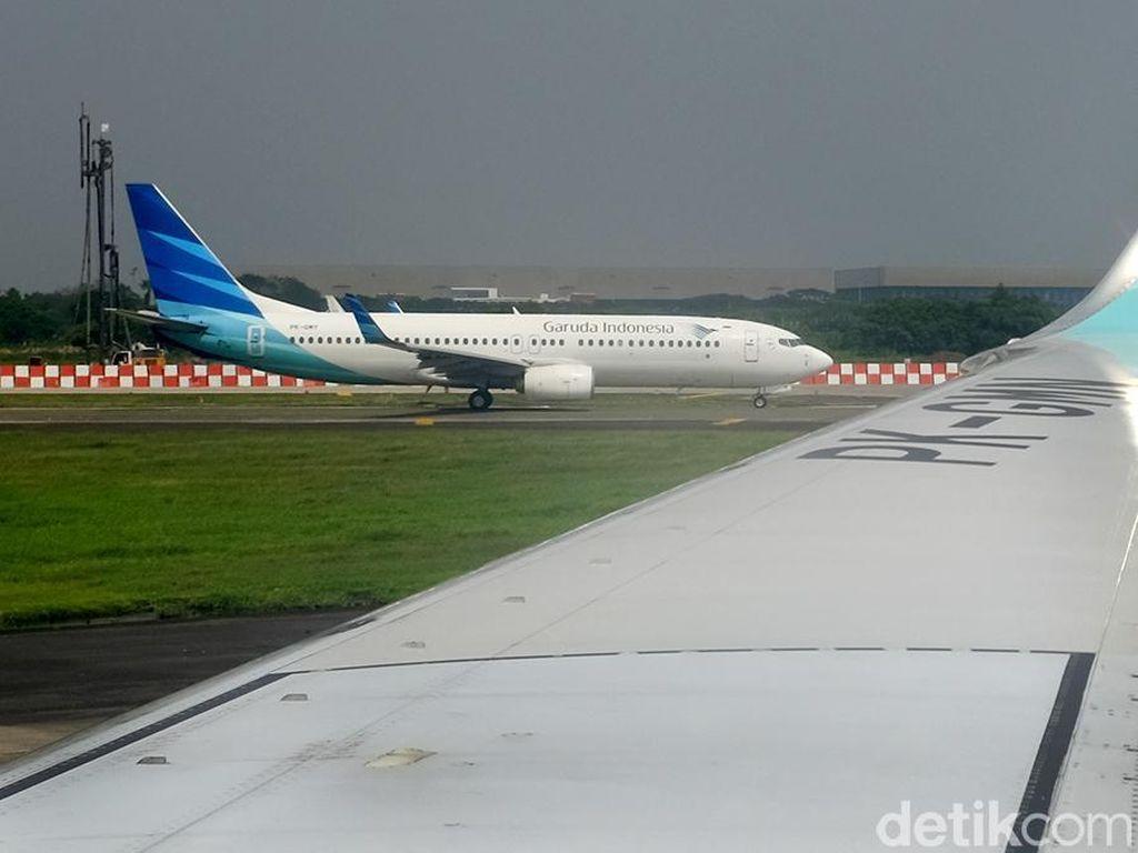 Garuda Grounded Pilot yang Posting Bela Teroris