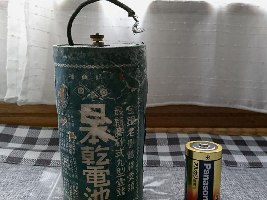 Ajaib! Baterai Antik Jaman Perang Dunia II Masih Berfungsi