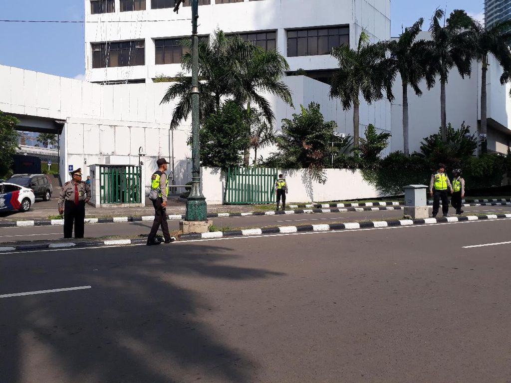 Jelang Keberangkatan Obama, Pengamanan di Hotel Mandarin Diperketat