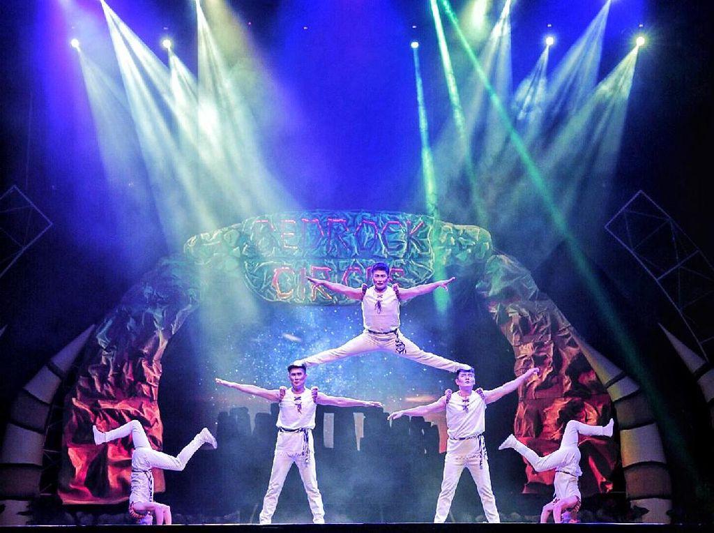 Datang Yuk! Ada Aksi Sirkus Kelas Internasional di Bandung