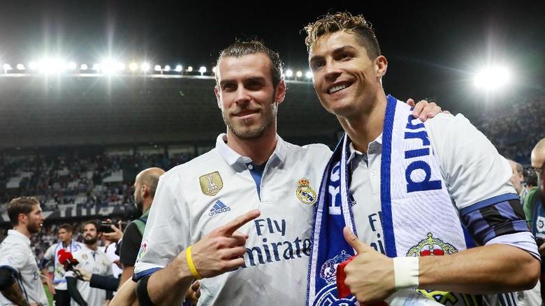Jangan Tanya Bale soal Masa Depan Ronaldo di Madrid