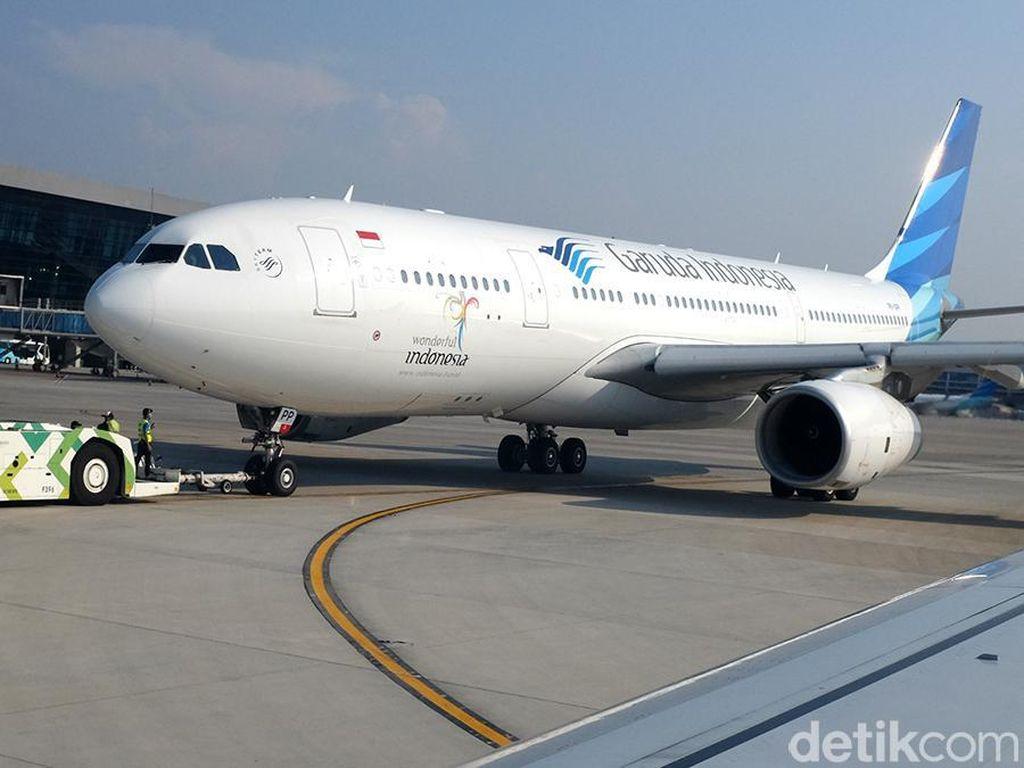 14 Pesawat Garuda Terbangkan 107 Ribu Calon Haji