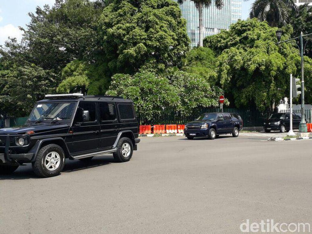 Rombongan Obama Tinggalkan Hotel Mandarin, Bergerak ke Bandara Halim