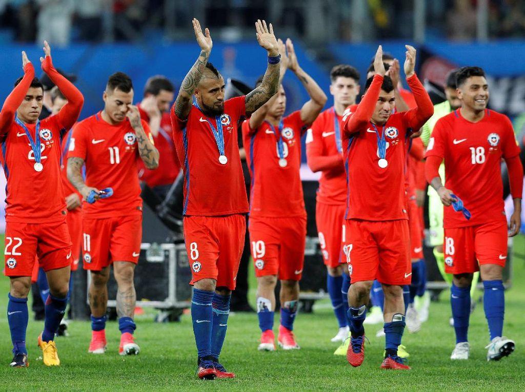 Chile Sudah Berjuang Habis-habisan, Hanya Kurang Trofi