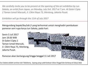 Perupa Jun Sakata Pajang 50 Karya Instalasi dari Pelepah Pisang