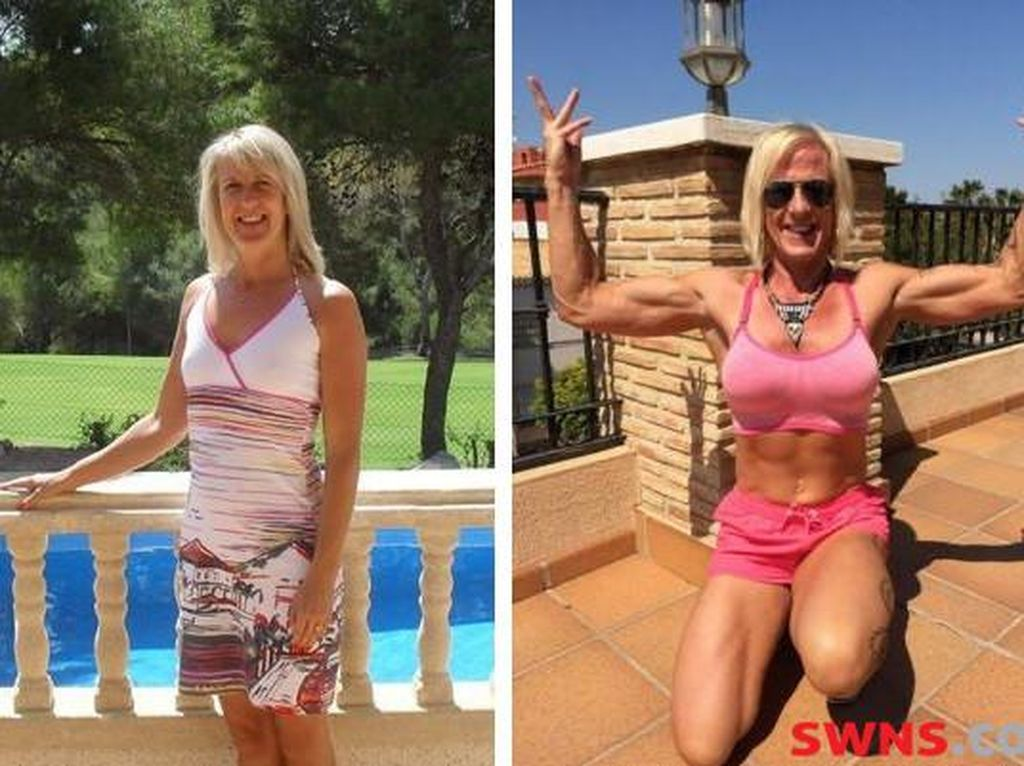 Makan 30 Putih Telur Tiap Hari, Tubuh Kurus Wanita Ini Jadi Penuh Otot!
