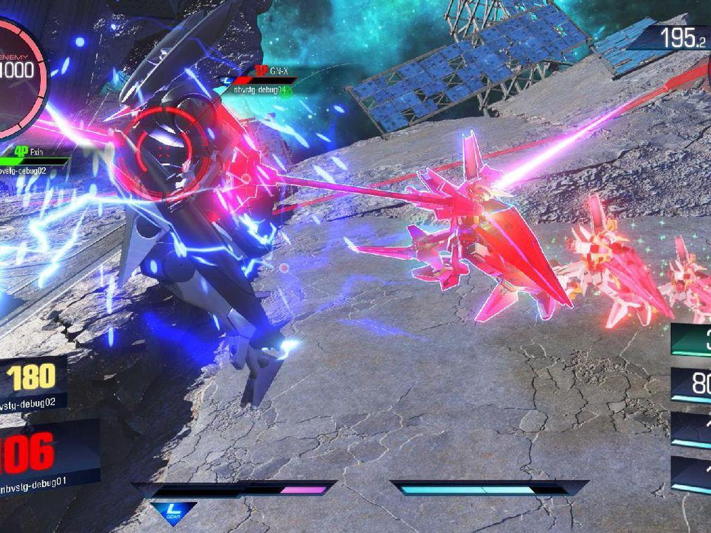 Gundam Versus Siap Beraksi September