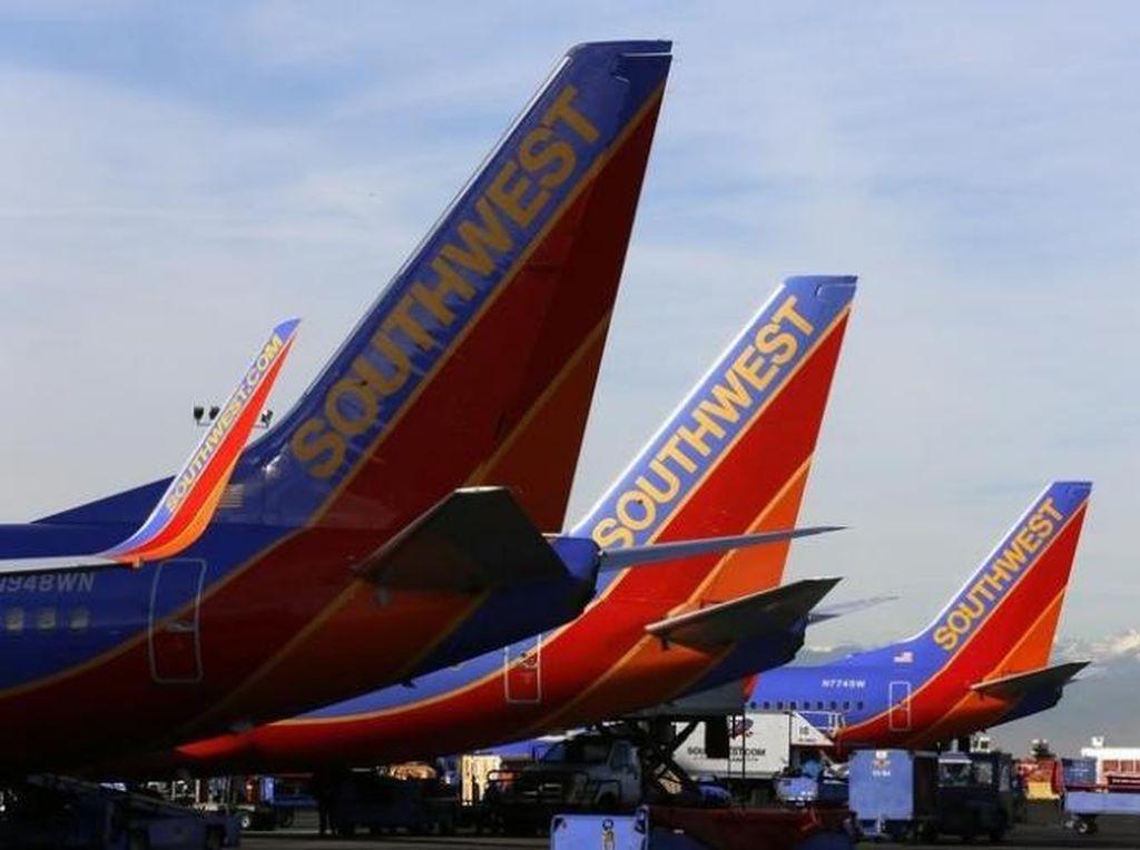 Pesawat di AS Dialihkan, Gara-gara Ditemukan Pesan Misterius