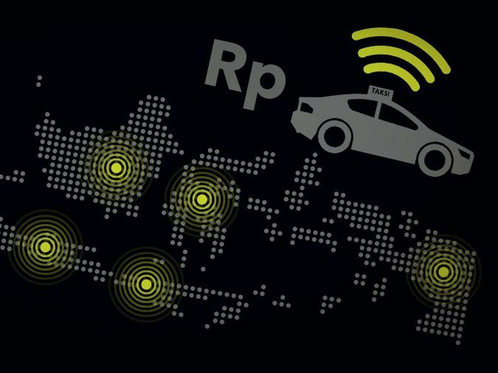 Kuasai Pasar Lebih Dulu, Kok Taksi Konvensional Kalah dengan Online?