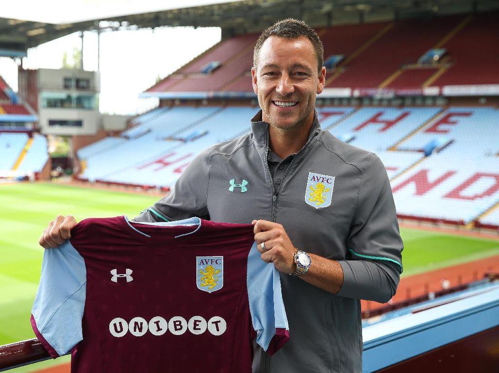 Terry Pilih Aston Villa karena Tak Mau Berjumpa Chelsea
