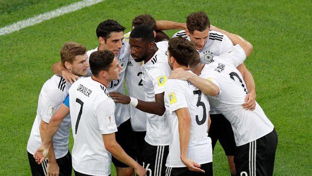Timnas Jerman menjadi juara Piala Konfederasi 2017.