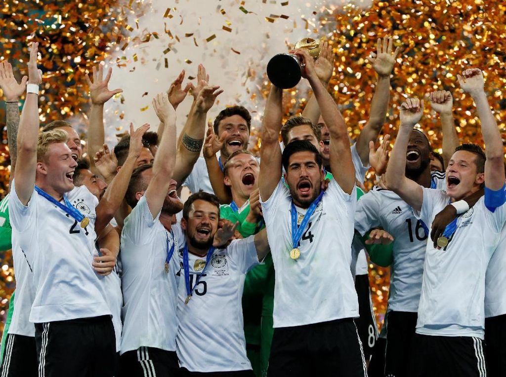 Jerman Kembali Nomor Satu Dunia