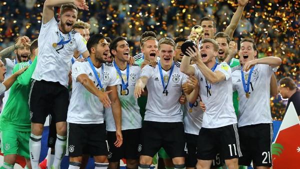 Gelar Juara yang Tak Terlupakan bagi Skuat Muda Jerman