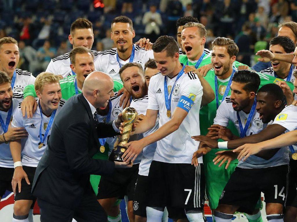 Draxler: Gelar Juara yang Luar Biasa untuk Jerman