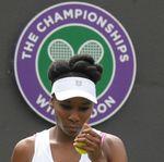 Tangisan Venus Williams